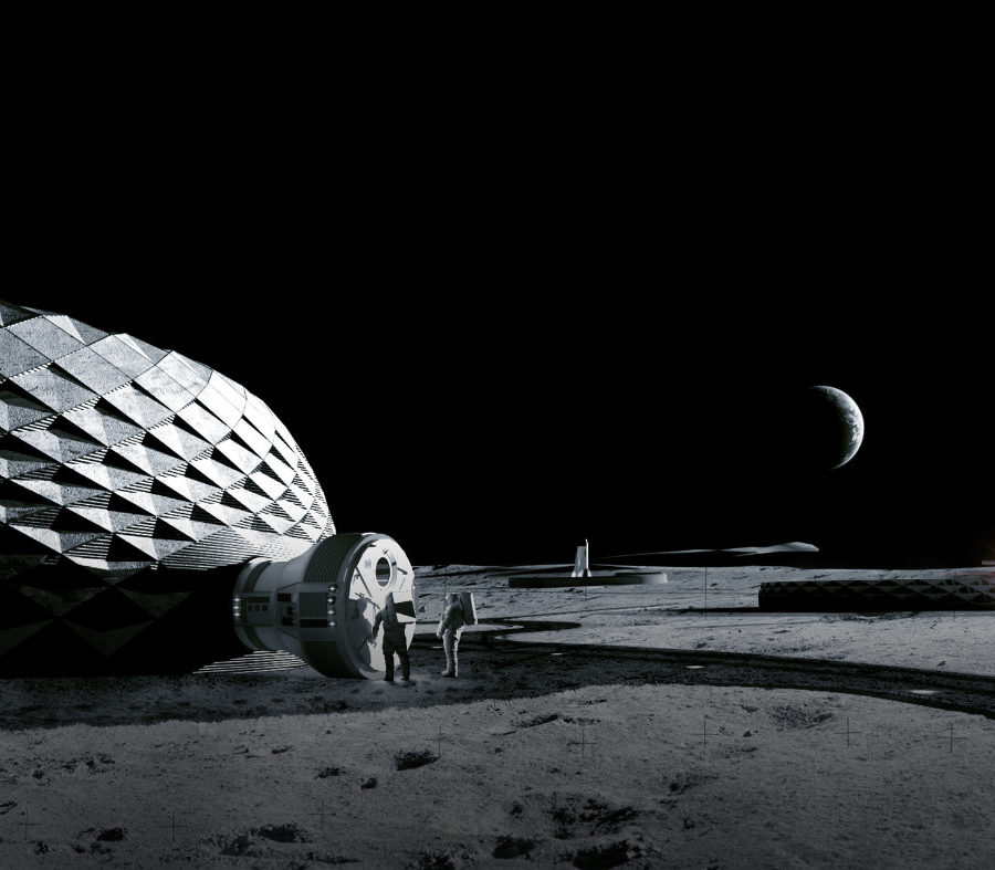 ICON Project Olympus, Concept Render 2. Image credit BIG Bjarke Ingels Group